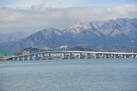 琵琶湖大橋冬